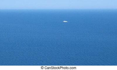 Go on sea voyage in summer vacation