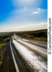 Go on the road in Blur style