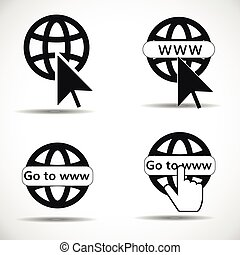 go to web icon
