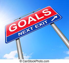 Goal concept.