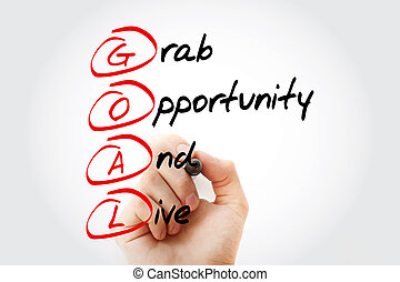 Grab Opportunity And Live