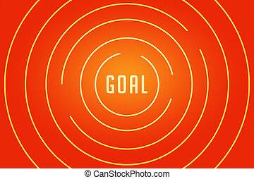 Goal Maze Concept Image