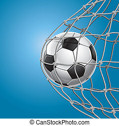 goal., net., soccer bold