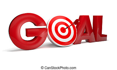 goal - rendr of the text goal