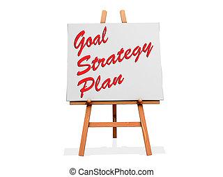 Goal Strategy Plan