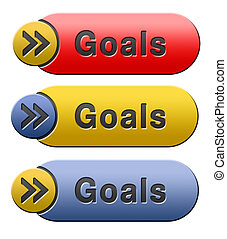 goals icon - goals and ambition way to success guarantee to...