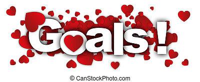 goals label