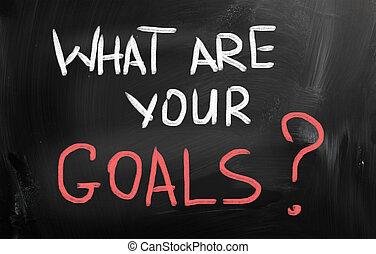goals?, qué, su
