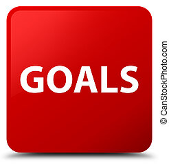 Goals red square button