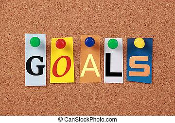 Goals Single Word
