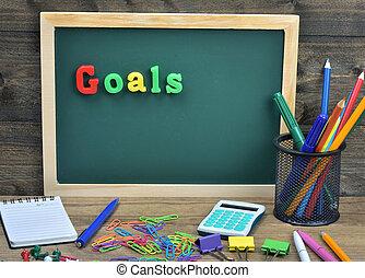 Goals word