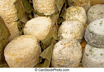 Goat cheeses - Piquant delicious goat cheese on the market