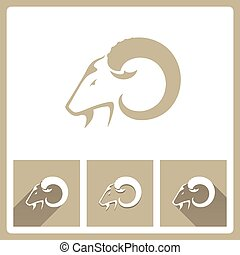 Goat Head icons