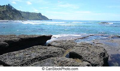 Goat Island Leigh New Zealand - Landscape of Goat Island...