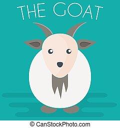 Goat mascot Illustration