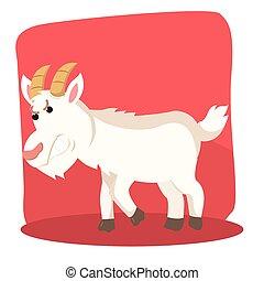 goat ramming