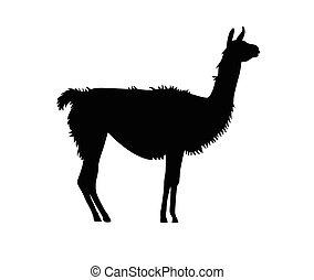goat vector silhouette