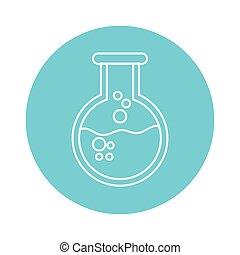 gobelet, chimie, dessin animé