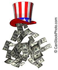 gobierno, dinero