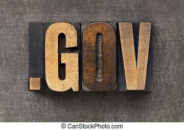 gobierno, dominio, internet