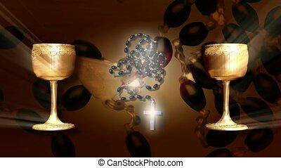 goblets, goud