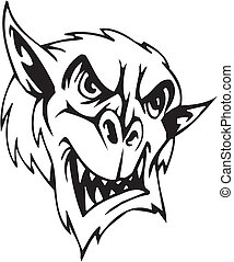 Goblin - Halloween Set - vector illustration - Vinyl-ready ...