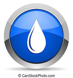 goccia acqua, icona