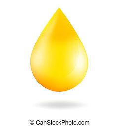 goccia, giallo