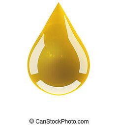 goccia, olio