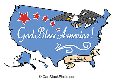 God Bless America - 4th of July