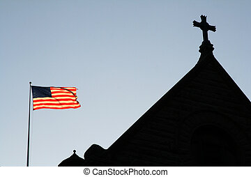 God Bless America - Church