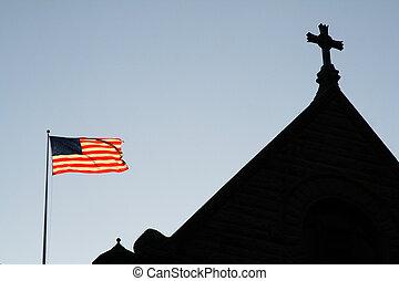 God Bless America - Church
