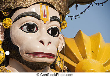 "god"", hanuman, mitologico, indiano, ""monkey"