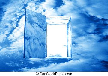 god heaven dream door passage
