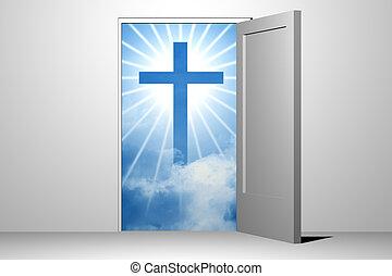 god heaven entrance unreal divine