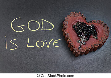 God is love inscription