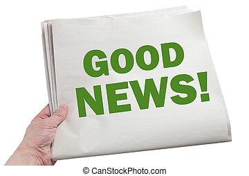 god nyheterna
