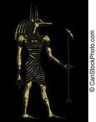 God of Ancient Egypt - Anubis