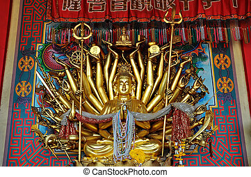 God of Chinese name kuan Yin - Kuan Yin image of buddha with...
