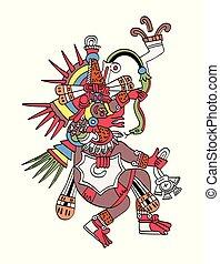God Quetzalcoatl, the feathered serpent - Quetzalcoatl, the...