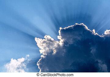 god rays