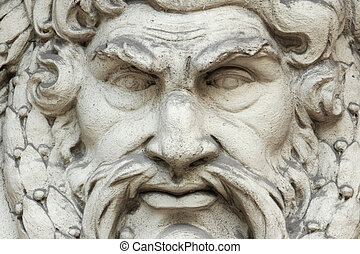 God Zeus. The king of the gods the ruler of mount Olympus and the god of the sky and thunder.