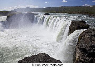 godafoss, 滝, アイスランド
