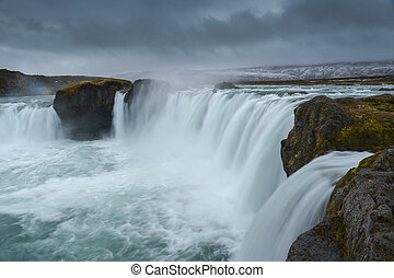 godafoss, settentrionale, islanda