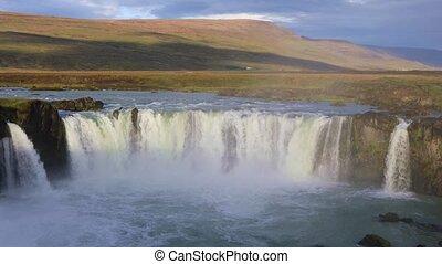 Godafoss waterfall, Iceland - Beautiful Icelandic waterfall...