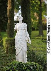 goddess Antique statue - Antique marble sculpture Women...