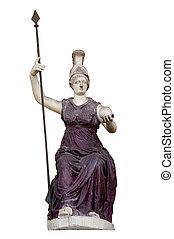 Goddess Roma Triumphans - Statue of the goddess Roma...