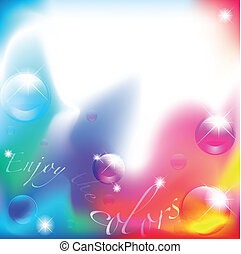 godere, il, colors:, astratto, fondo