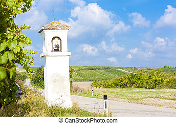 God''s torture with vineyard, Southern Moravia, Czech Republic