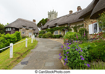 Godshill village Isle of Wight uk - Godshill village Isle of...